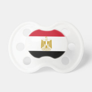 Flag of Egypt - علم مصر - Egyptian Flag Pacifier