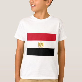 Flag of Egypt - علم مصر - Egyptian Flag T-Shirt