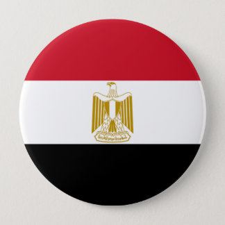 Flag of Egypt 4 Inch Round Button