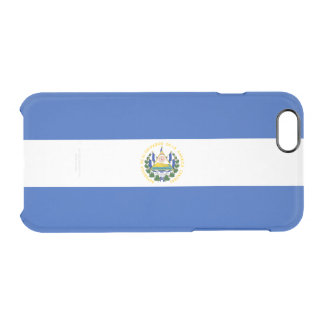 Flag of El Salvador Clear iPhone Case