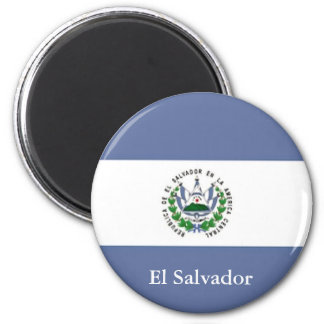 Flag of El Salvador Magnet