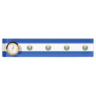 Flag of El Salvador, National Coat of Arms Nameplate