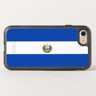 Flag of El Salvador OtterBox iPhone Case