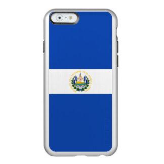 Flag of El Salvador Silver iPhone Case Incipio Feather® Shine iPhone 6 Case