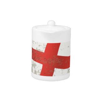 Flag of England and Saint George Grunge
