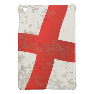 Flag of England and Saint George Grunge iPad Mini Cover