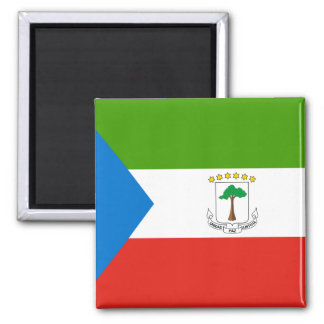 Flag of Equatorial Guinea Magnet