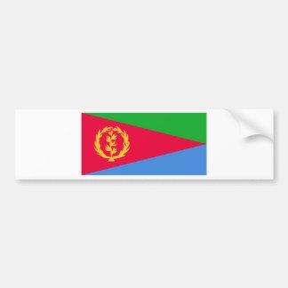 Flag of Eritrea - የኤርትራ ሰንደቅ ዓላማ - علم إريتريا Bumper Sticker