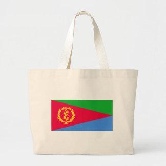 Flag of Eritrea - የኤርትራ ሰንደቅ ዓላማ - علم إريتريا Large Tote Bag