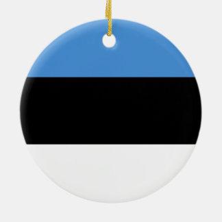 Flag of Estonia Ornament