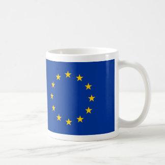 FLAG OF EUROPE COFFEE MUG