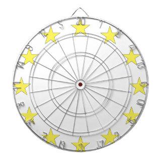 Flag of Europe - European Flag - EU European Union Dartboard