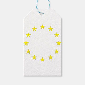Flag of Europe - European Flag - EU European Union Gift Tags