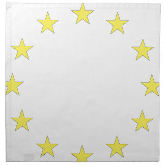 Flag of Europe - European Flag - EU European Union Napkin