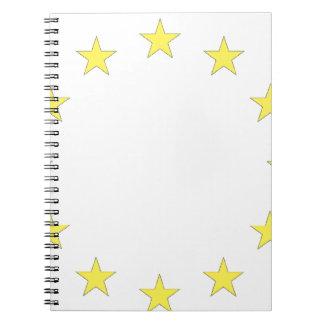 Flag of Europe - European Flag - EU European Union Notebook