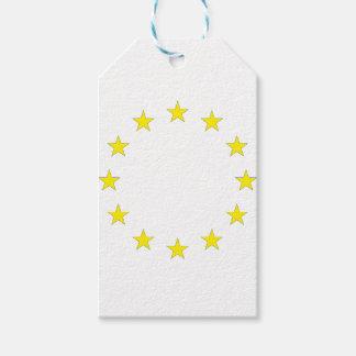 Flag of Europe - European Flag - EU European Union Pack Of Gift Tags