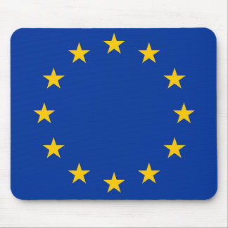 Flag of Europe, European Flag Mouse Pad