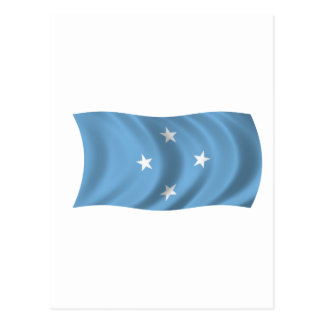 Flag of Federated States of Micronesia Postcard