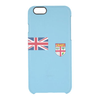 Flag of Fiji Clear iPhone Case