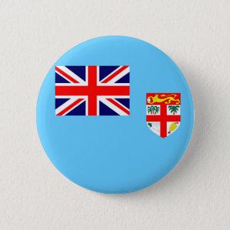 Flag of Fiji Island 2 Inch Round Button
