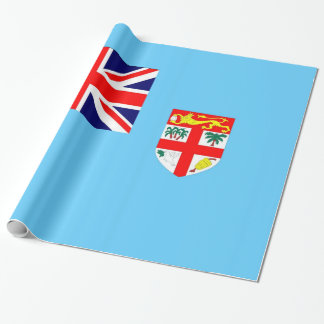 Flag of Fiji Island Wrapping Paper