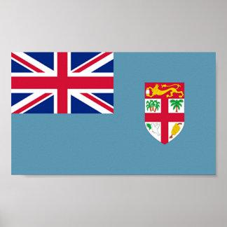Flag of Fiji Poster