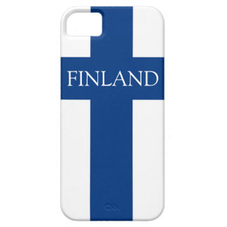 Flag of Finland Blue Cross Flag Case For The iPhone 5