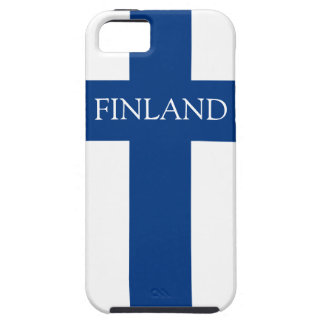 Flag of Finland Blue Cross Flag iPhone 5 Covers