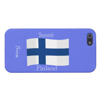 Flag of Finland Case For The iPhone 5