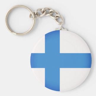 Flag of Finland Keychain