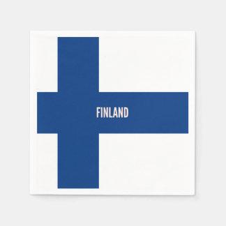 Flag of Finland Paper Napkins