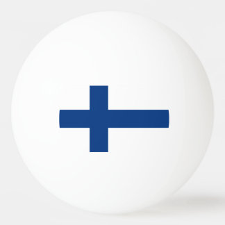 Flag of Finland Ping-Pong Ball