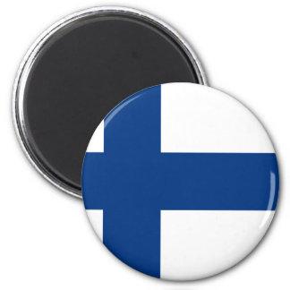 Flag of Finland (Suomen lippu, Finlands flagga) Magnet