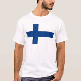 Flag of Finland - Suomen lippu - Finlands flagga T-Shirt