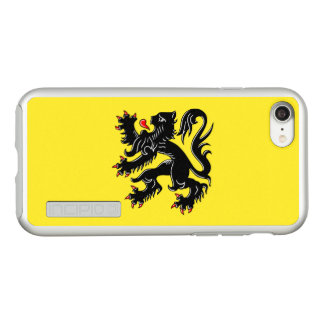 Flag of Flanders Silver iPhone Case