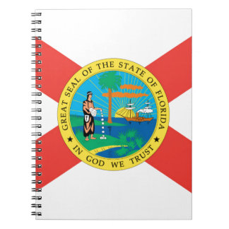 Flag Of Florida Notebook