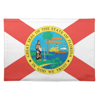 Flag Of Florida Placemat