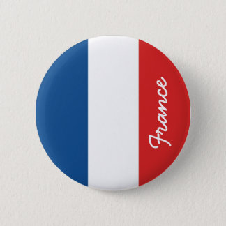 Flag of France 2 Inch Round Button