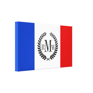 Flag of France Canvas Print