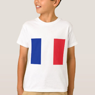 Flag of France; French Flag, Drapeau de la France T-Shirt