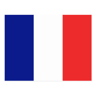 Flag of France French Tricolore Postcard