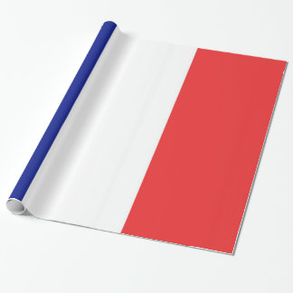 Flag of France French Tricolore Wrapping Paper