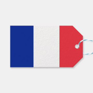 Flag of France Gift Tags