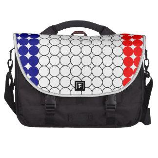 Flag of France Laptop Shoulder Bag