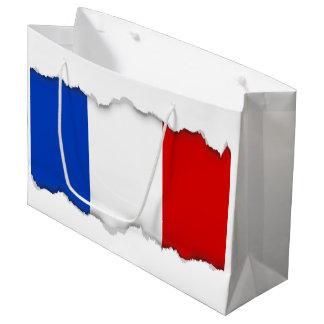 Flag of France Large Gift Bag