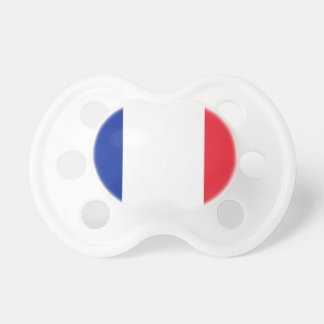 Flag of France Pacifier