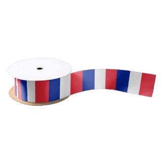 Flag of France ribbon Satin Ribbon