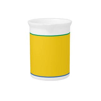 Flag_of_Gabon Drink Pitcher