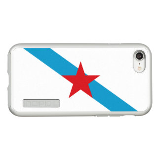 Flag of Galician Nationalism Silver iPhone Case