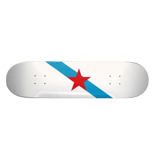 Flag of Galician Nationalism Skateboard Deck